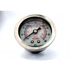 EPMAN Fuel Pressure Regulator Gauge / Meter (White Face)